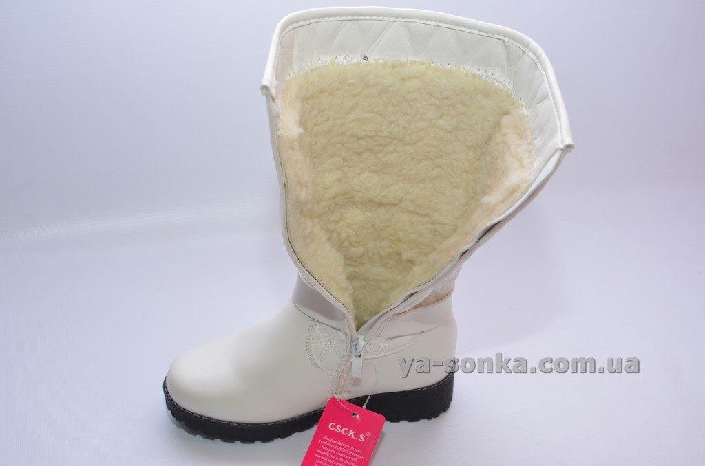 eec67d5df269da Купить детскую зимнюю обувь. Сапожки зимние для девочек CSCK.S, 597 ...