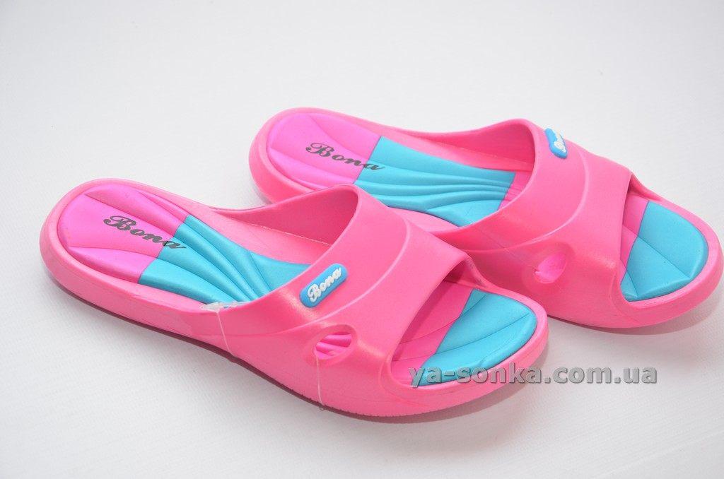 8424a8a65 Купить детскую пляжную обувь. Шлепанцы для девочек Bona, 936 ...