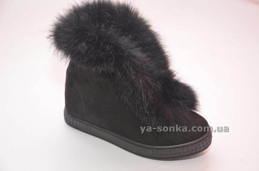 Купить детскую демисезонную обувь. Модные сникерсы с мехом. 34cf3c84dd4ca