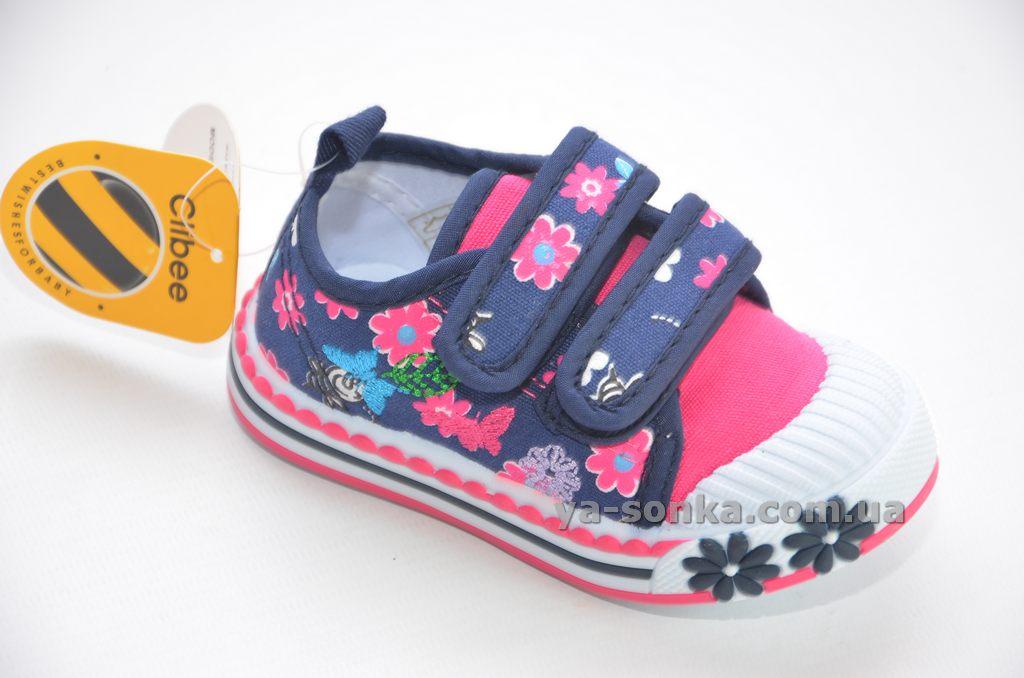 5ef217bd Купить детские кроссовки. Мокасины -кеды для девочки Clibee, 1062 ...