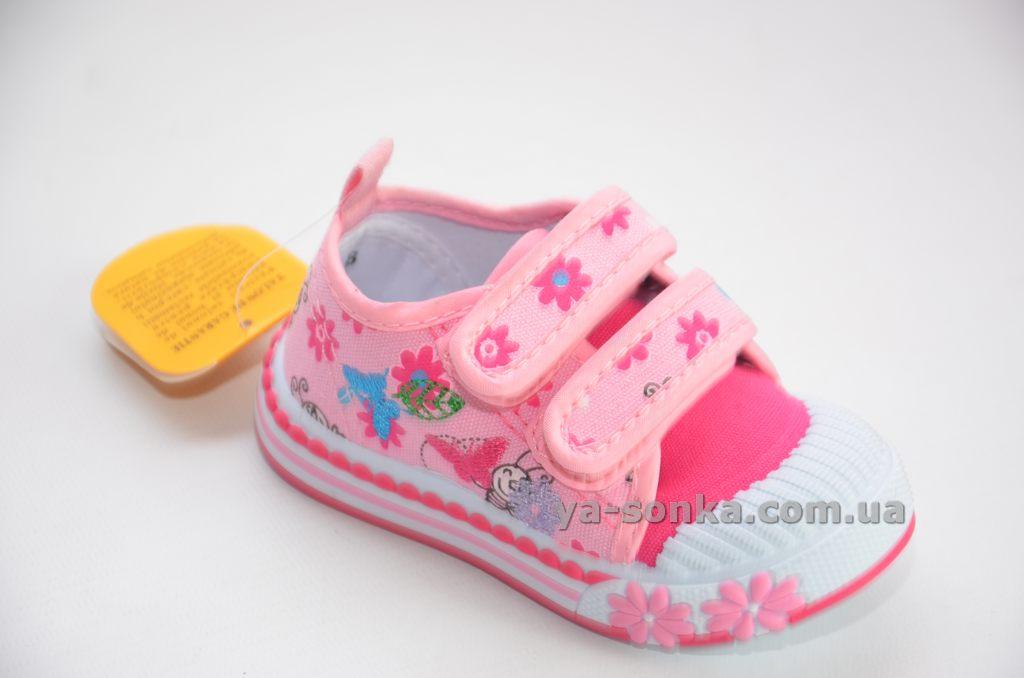 7ec1b992 Купить детские кроссовки. Мокасины -кеды для девочки Clibee, 1063 ...