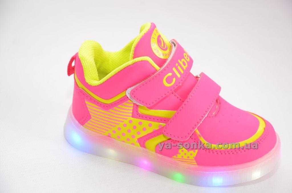 Купить детскую демисезонную обувь. Ботинки- кроссовки для девочек с ... effad8673af7d