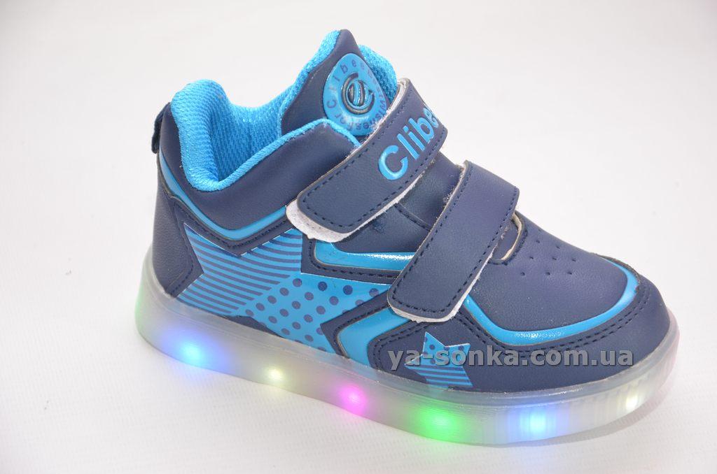 Купить детскую демисезонную обувь. Ботинки- кроссовки для мальчика с ... b1f8335e0c426