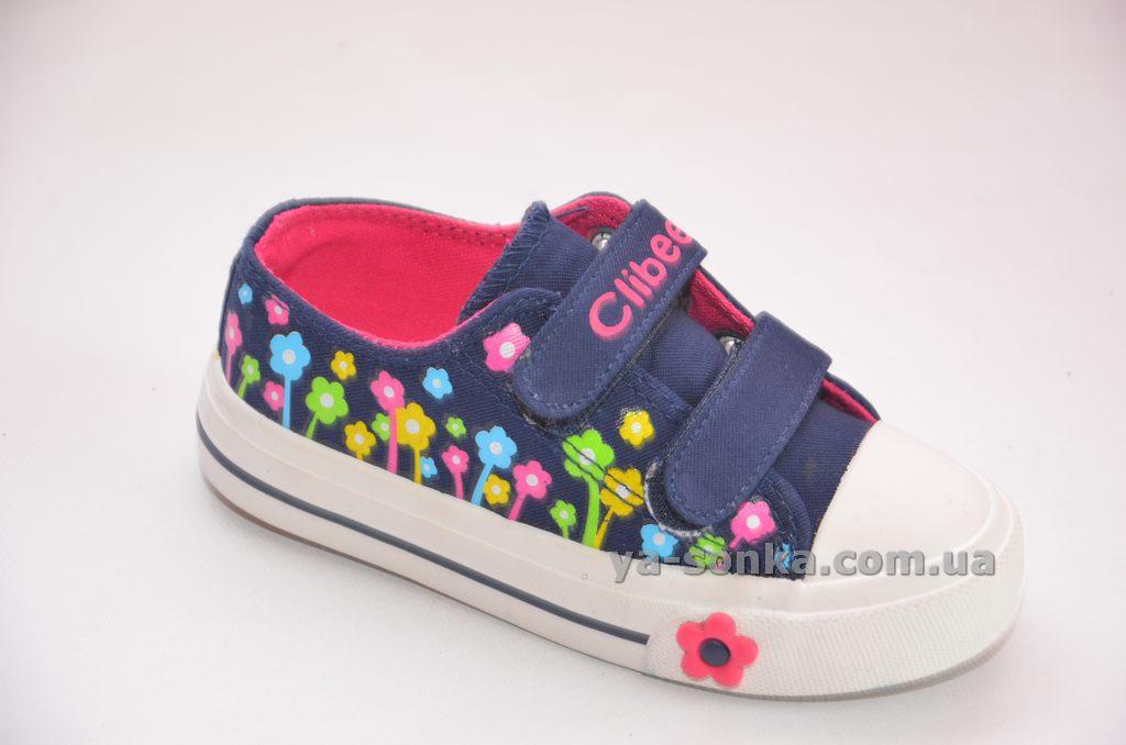 Купить детские кроссовки. Кеды - мокасины для девочки Clibee 445b4f7448e31