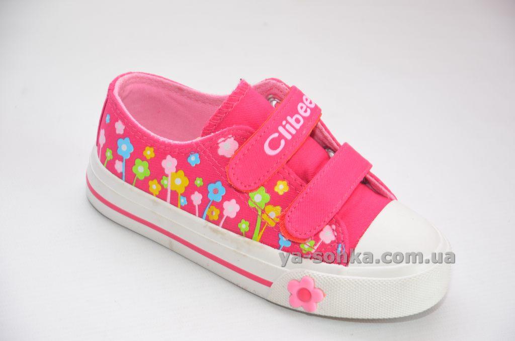 Купить детские кроссовки. Кеды - мокасины для девочки Clibee ffc92a0477bff