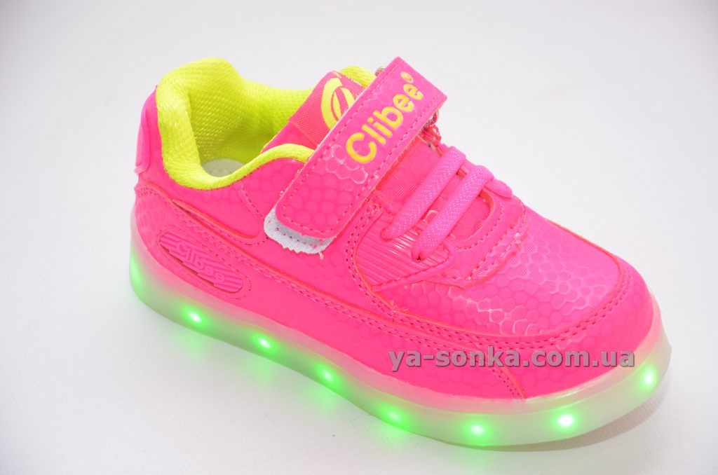 Кросівки для дівчаток c LED підсвідкою USB зарядкою - Ясонька ... 05fb881c0514f