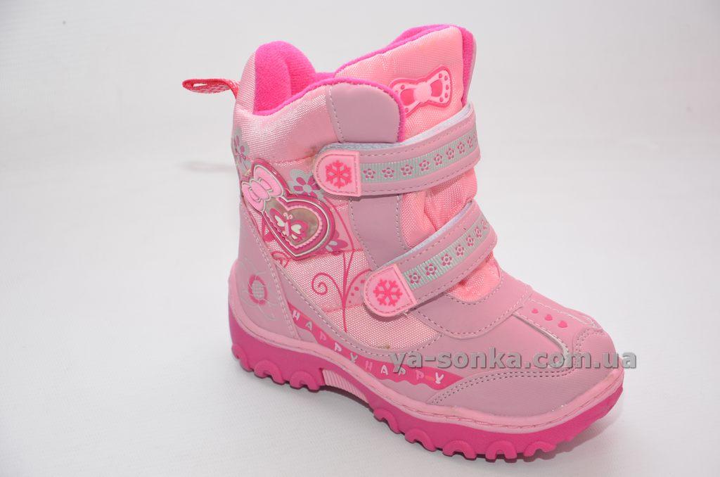 Сноубутси з льодоступами для дівчинки - Ясонька - магазин дитячого ... 6b413eb749dff