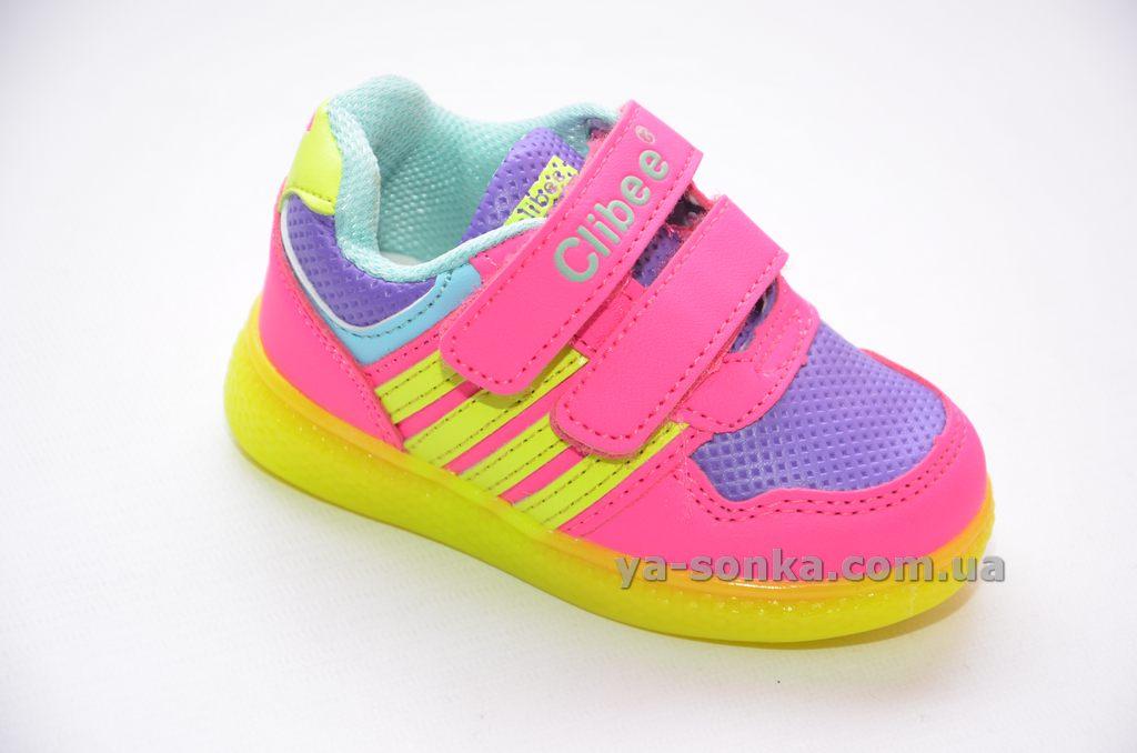 Кросівки з підсвіткою для дівчинки - Ясонька - магазин дитячого взуття d0f661c2bad04