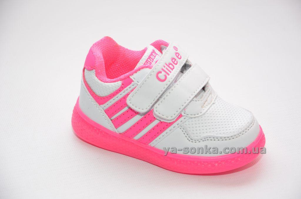 Кросівки з підсвіткою для дівчинки - Ясонька - магазин дитячого взуття 6931c1b9691a6