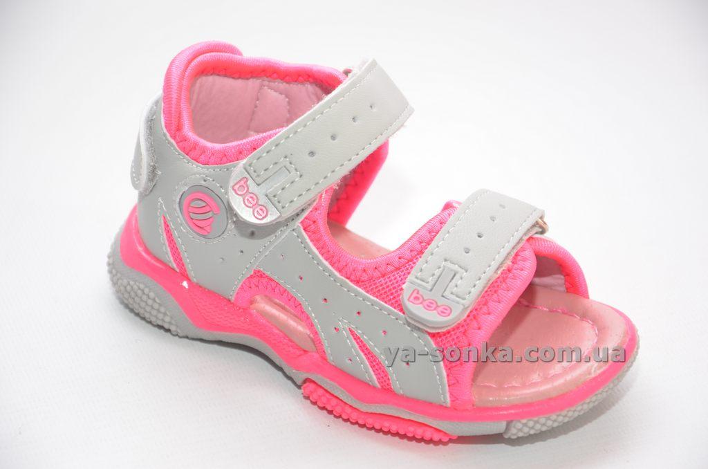 Сандалі-босоніжки для дівчинки - Ясонька - магазин дитячого взуття bb5bc9cf6532f