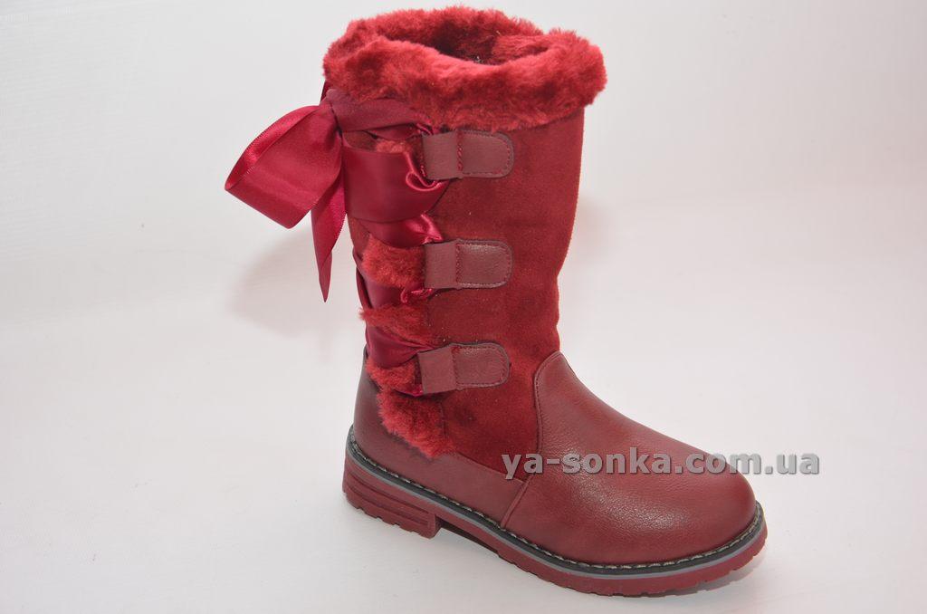 Чоботи для дівчинки - Ясонька - магазин дитячого взуття 89262af94202f