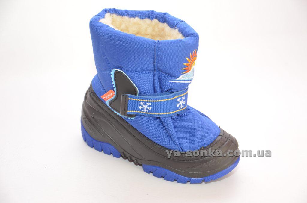 108b1cb57f2bff Купить детскую зимнюю обувь. Дутики для мальчика, Demar, 2305 ...