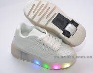 Кроссовки для Вашего ребенка с роликом и подсветкой