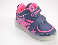 Ботинки- кроссовки для девочек с подсветкой