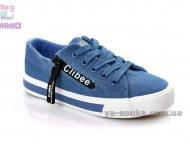 Кеды - мокасины фирмы Clibee для девочек