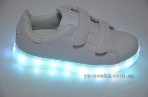 Кроссовки для Вашего ребенка c LED подсветкой USB зарядкой