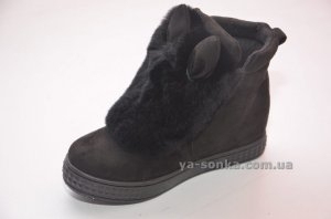 Купить детскую демисезонную обувь. Модные сникерсы с ушками. 6fcd0bf640cf0