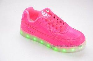 Купить детские кроссовки. Кроссовки для девочек c LED подсветкой USB ... b776fea83b1d5