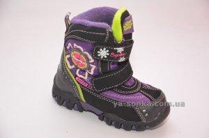 96817140d596cc Купить детскую зимнюю обувь. Термо ботинки для девочки SuperGear ...