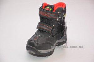 Ботинки зимние для мальчика с ледоступами