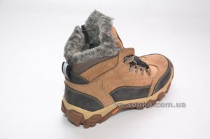 Ботинки зимние кожаные для ребенка