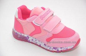 Кроссовки с подсветкой для девочки