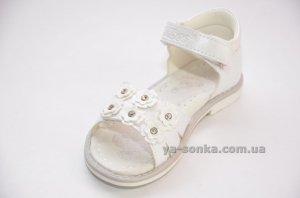 Сандалі-босоніжки для дівчинки - Ясонька - магазин дитячого взуття 07fe5136f3266