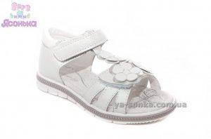 Кожаные сандалии для девочки